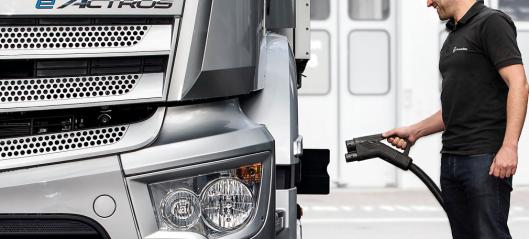 Mercedes-Benz Trucks inngår ladesamarbeid