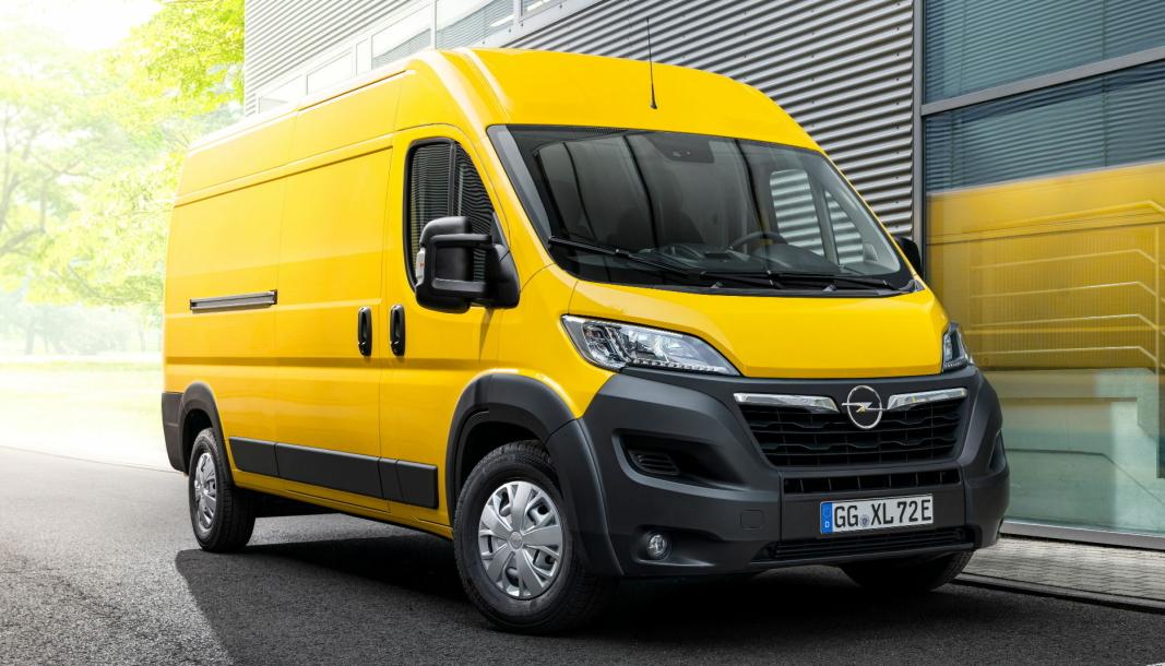 Opel kommer med sin første store el-varebil.