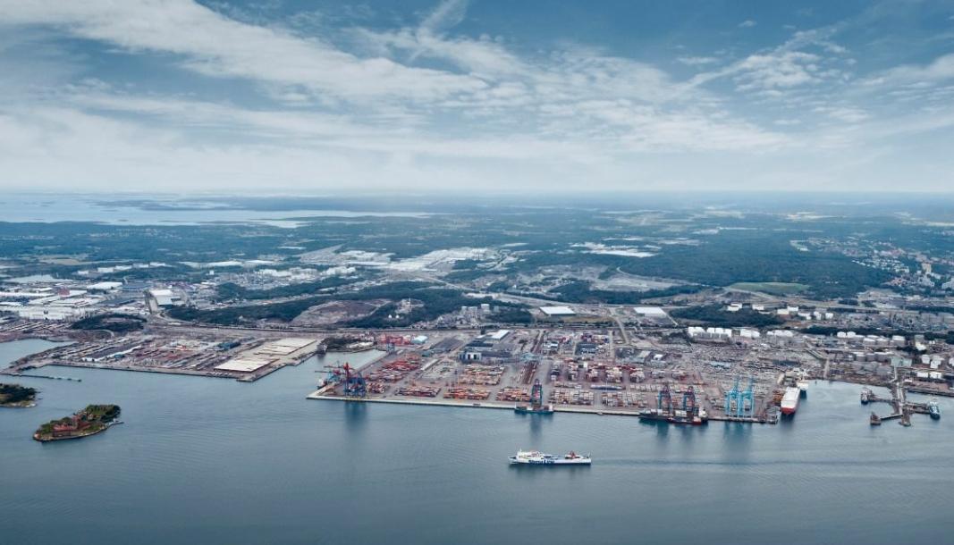 6000 fartøy anløper havnen i Göteborg hvert år. Med ny teknologi vil anløpene bli mer effektive og mer miljøvennlige, hevder den svenske storhavnen.