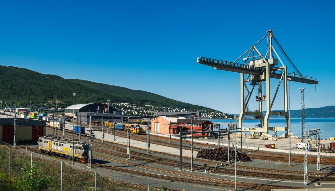 Godsterminalen i Narvik ligger an til å bli rustet opp.