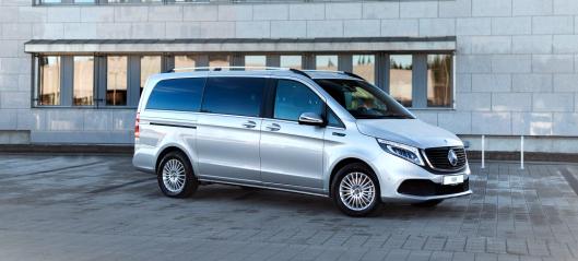 Luksuriøs varebil fra Mercedes-Benz