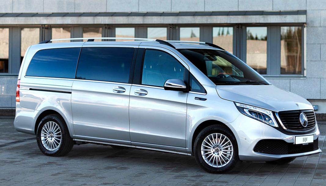 Mercedes-Benz EQV varebil er nå til salgs i Norge.