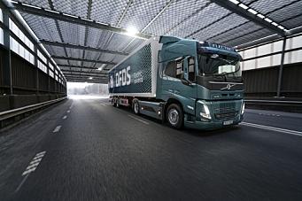 Volvo og DFDS i el-samarbeid