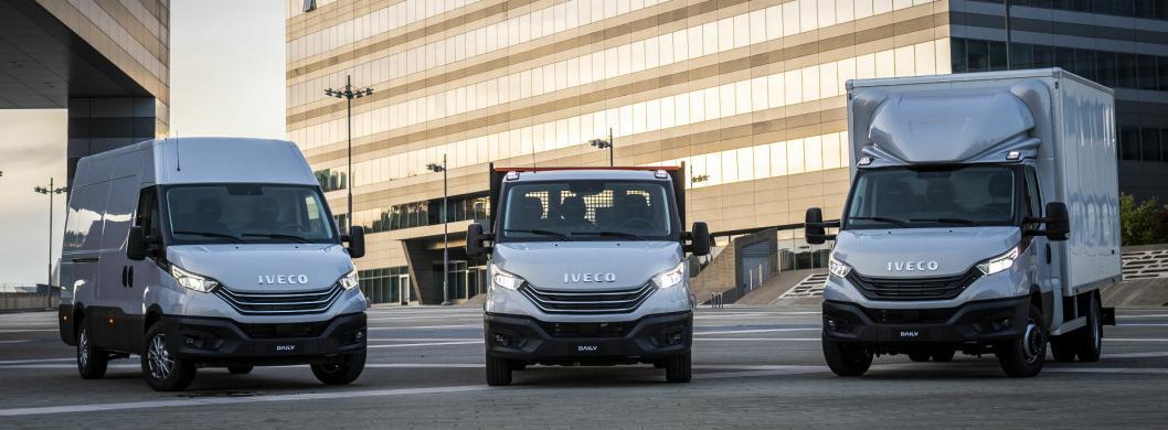 Iveco Daily kan leves både som varebil og som chassisløsning for påbygg.
