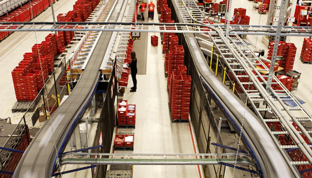 Østlandsterminalen på Lørenskog er allerede Nord-Europas største, men skal bli enda større.