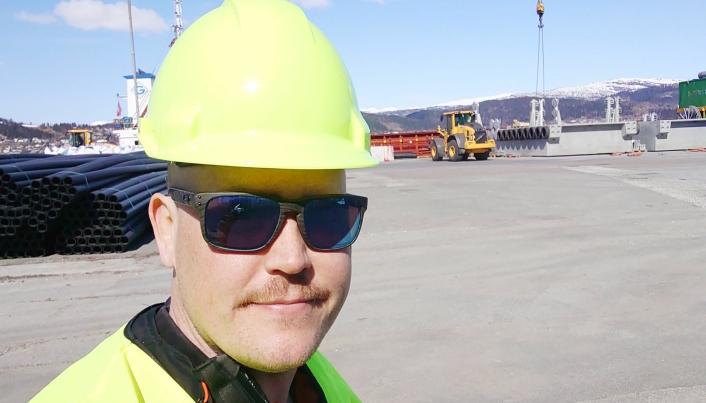 Logistikksjef Lars Christian Kvam Pedersen, Helgeland Plast AS.