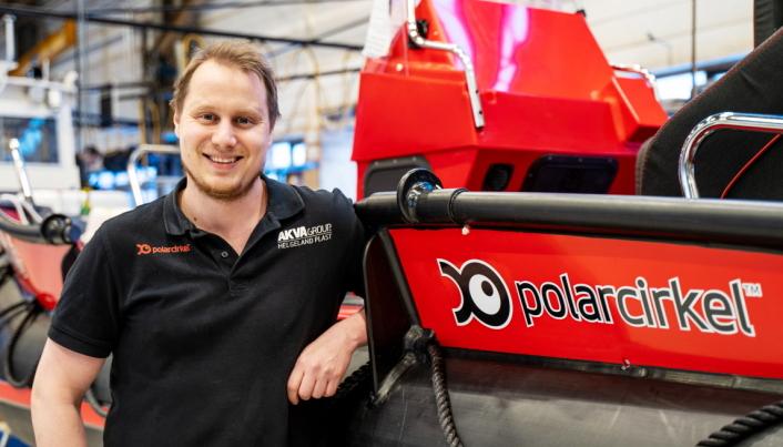 Freddy Bakken Braseth er salgansvarlig for Helgeland Plast AS.