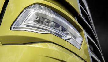 LYS: Led-lyse er standard på de nye modellene fra Daf.