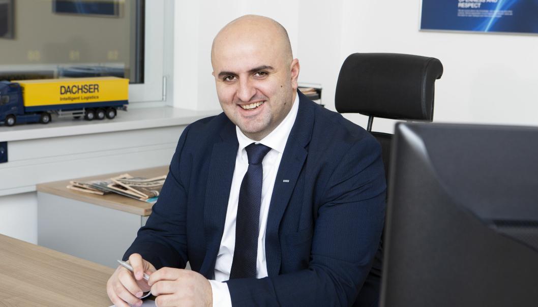 Armend Krasniqi, General Manager hos Dachser Norway, er stolt over at bedriften har gjennomført et svært godt år, selv i vanskelige 2020.