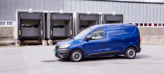 Renault Express laveste forbruk noensinne