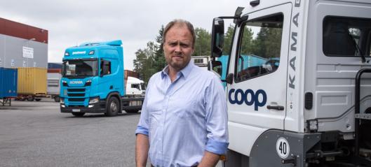 Coop må flytte gods fra bane til vei: - Kan ikke stole på toget