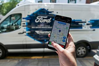 Ford setter «førerløse» varebiler i tjeneste