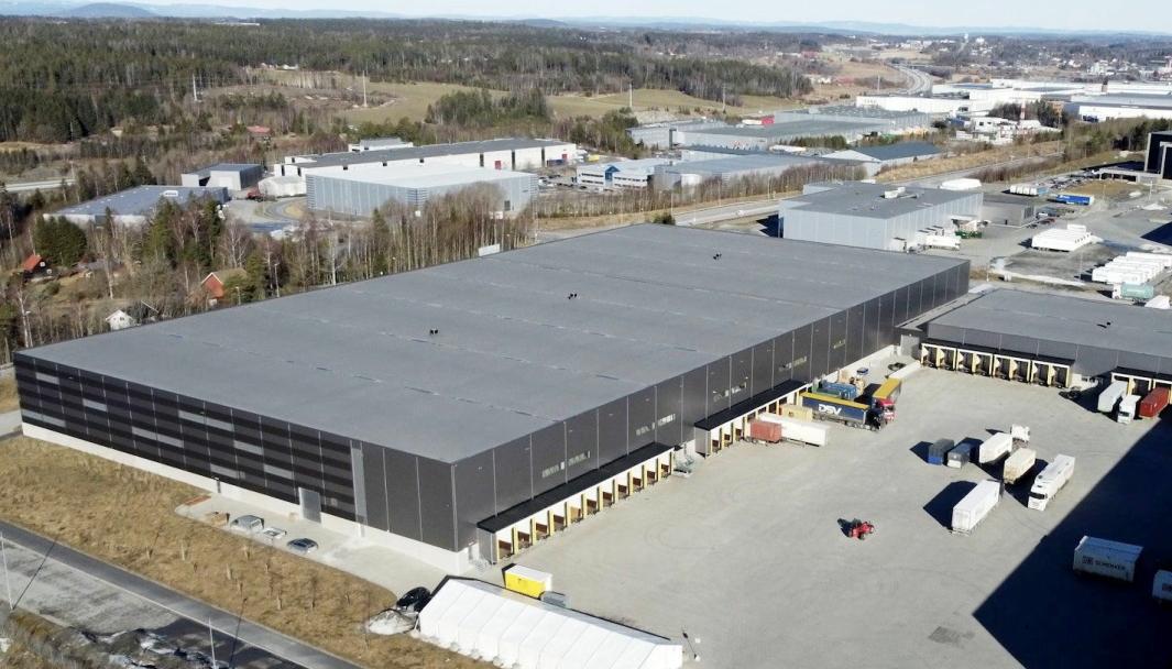 Helthjem flytter inn i Prime Cargo-bygget i Vestby.