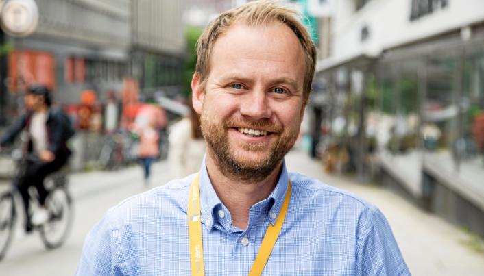 Anders Lunde Angen, som er daglig leder i Helthjem, gleder seg til å få større plass å boltre seg på.
