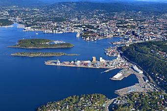 Fortsatt havnevirksomhet på Ormsund