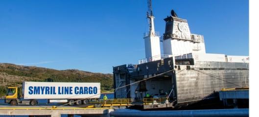 Over to millioner tonn gods kan flyttes til sjøen
