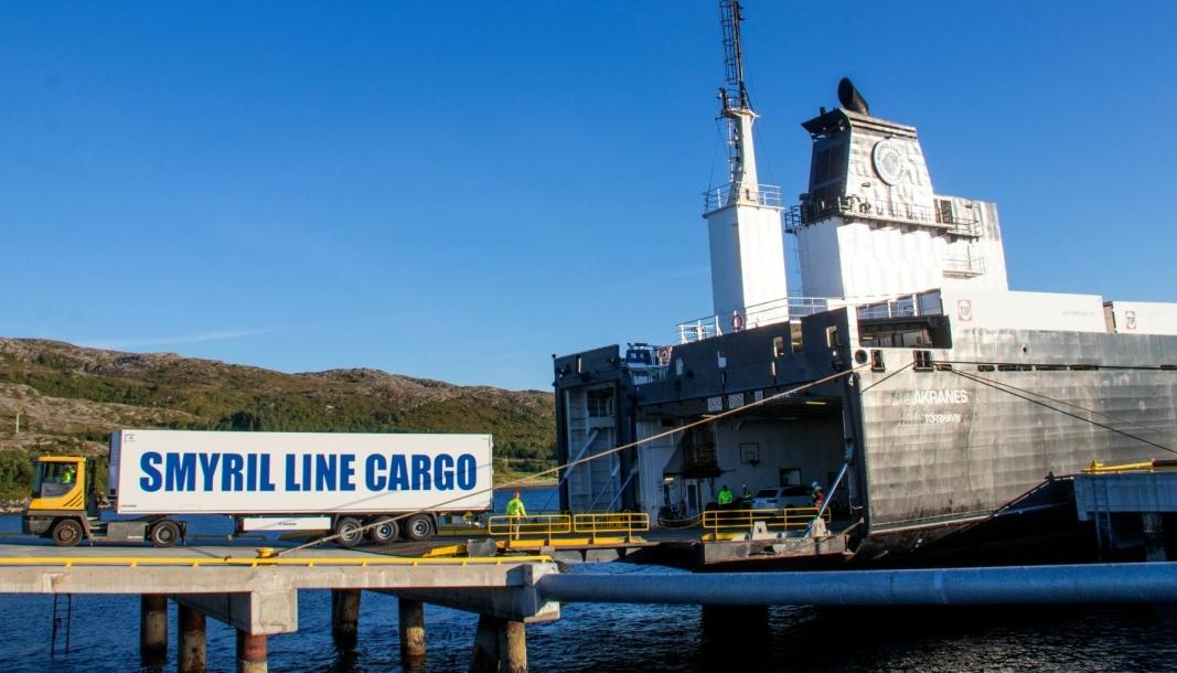 Sjømatruta mellom Midt-Norge og kontinentet. I løpet av de elleve måneder pilotruta har vært i drift, har den gitt mulighet til å fjerne 100 lastebiler fra norske veier hver eneste uke.