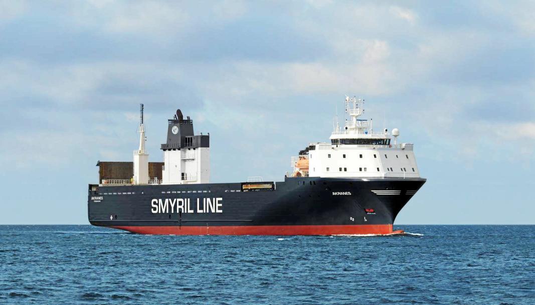Smyril Line Cargos godsferge MV Akranes