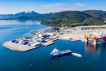 Seks havneprosjekter får støtte