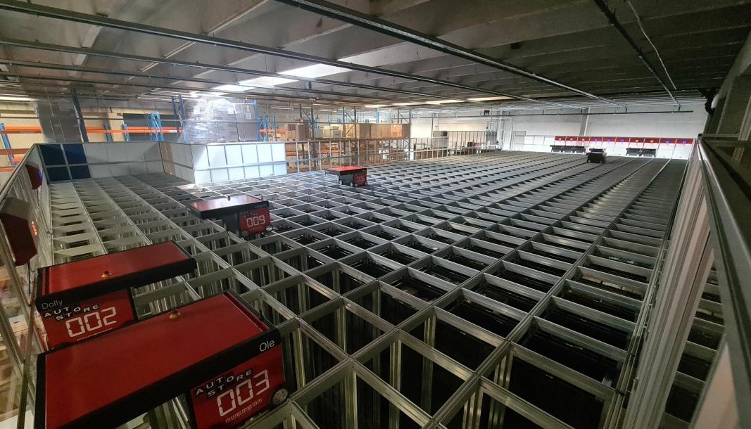 Norli Distribusjons AutoStore-anlegg i Lier skal utvides kraftig det neste halvåret. Det skjer med Apport WMS.
