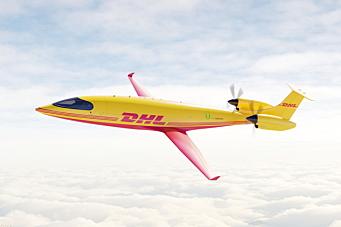 DHL går for elektriske fraktfly