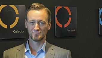 PAPIRLØST: Robert Fosen-Bengtsson i Zeekit forteller at deres systemer kan erstatte omtrent alt papirarbeid.