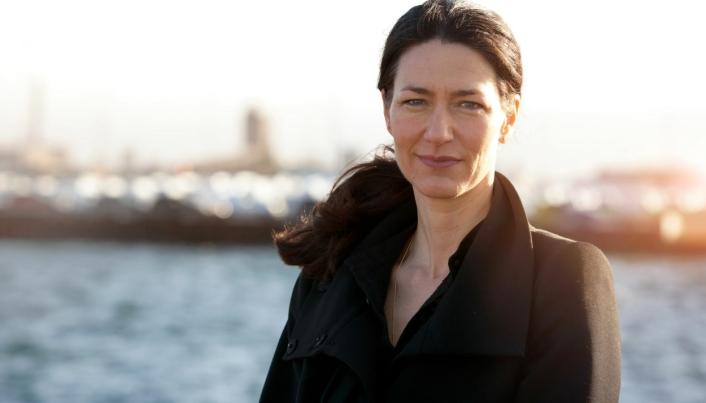Barbara Scheel Agersnap, administrerende direktør i Copenhagen Malmö Port, gleder seg til å få en mer moderne containerterminal å drive.