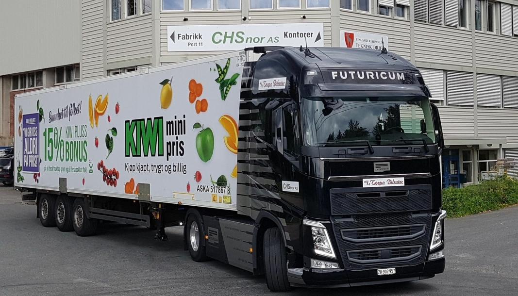 «Emma» er utviklet av sveitsiske Designwerk under varemerket Futuricum, og testes nå for Asko Transport.