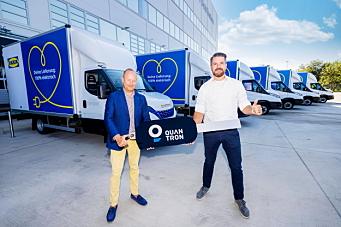 30 el-biler til IKEA