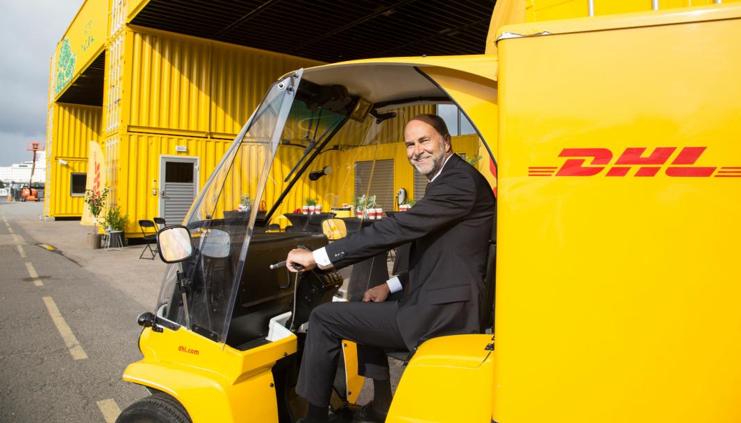 Administrerende direktør Terje Aarbog gleder seg over å kunne tilby utslippsfri distribusjon innenfor Ring 3 fra den nye huben.