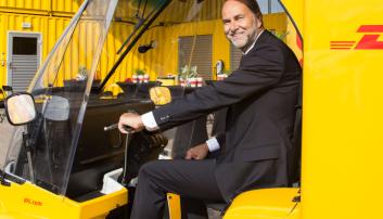 DHL åpnet sin City Hub