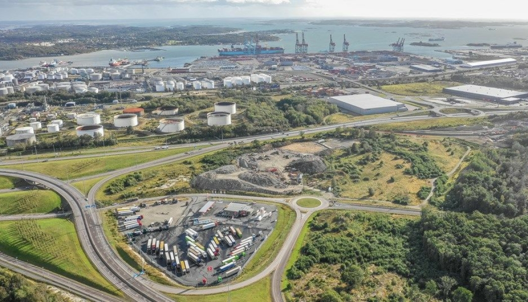 Stasjonen vil ligge på Vädermotet i Gøteborg havn, strategisk plassert ved siden av hovedrutene inn og ut av havnen.