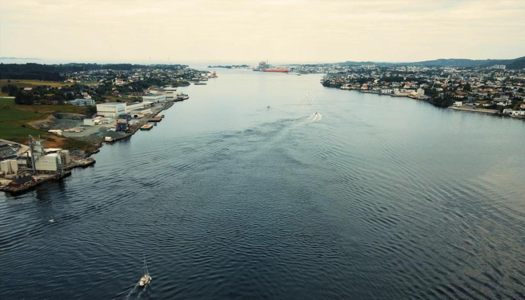 Karmsundet er blant de mest trafikkerte sjøområdene i Norge, og blir nå testområde for autonome fartøy.