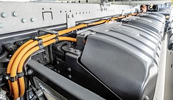TRE ELLER FIRE: Det er mulig å spesifisere bilen med tre eller fire batteripakker, hver på 105 kWt.