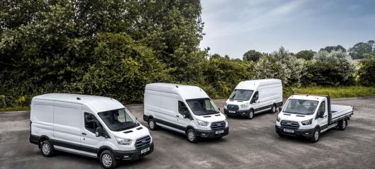 Starter snart testing av nye Ford E-Transit i Norge