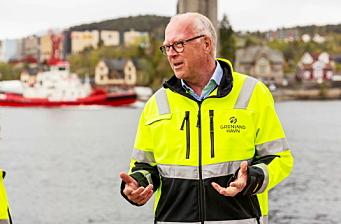 Har vært en visjonær og fremoverlent havnedirektør
