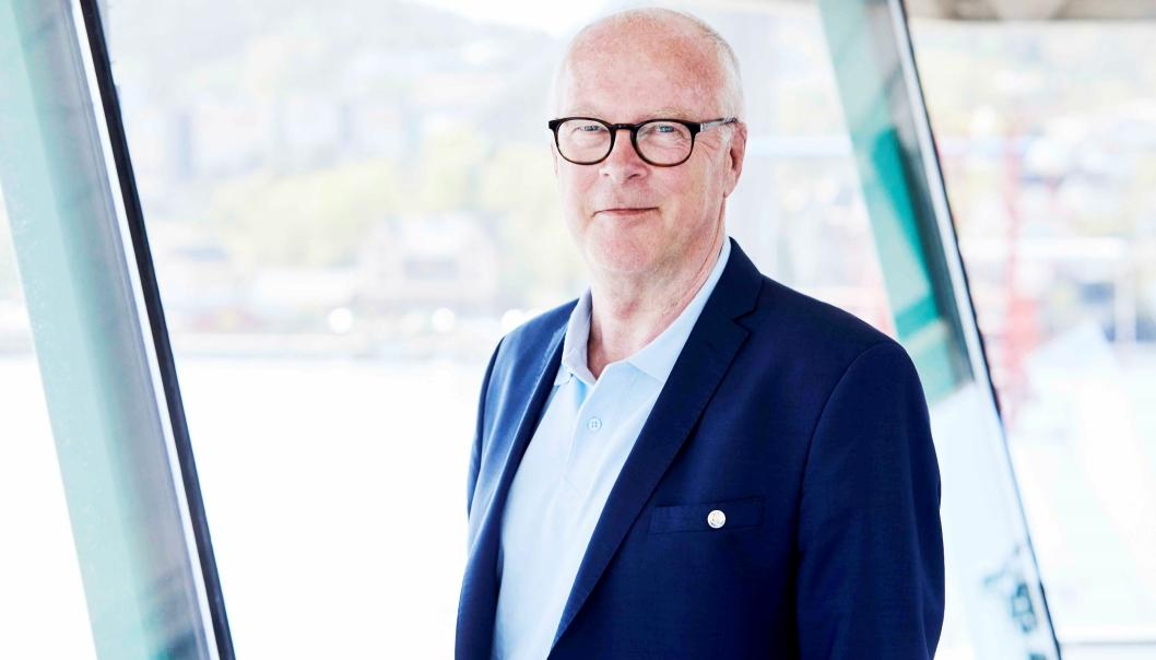 Etter 20 år har Finn Flogstad nå sluppet kontrollen over Grenland Havn.
