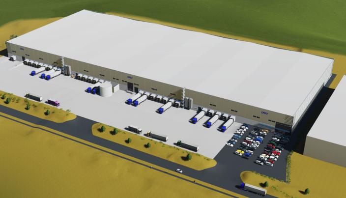 Med 39.000 kvadratmeter er det et voksent bygg DSV skal oppføre.
