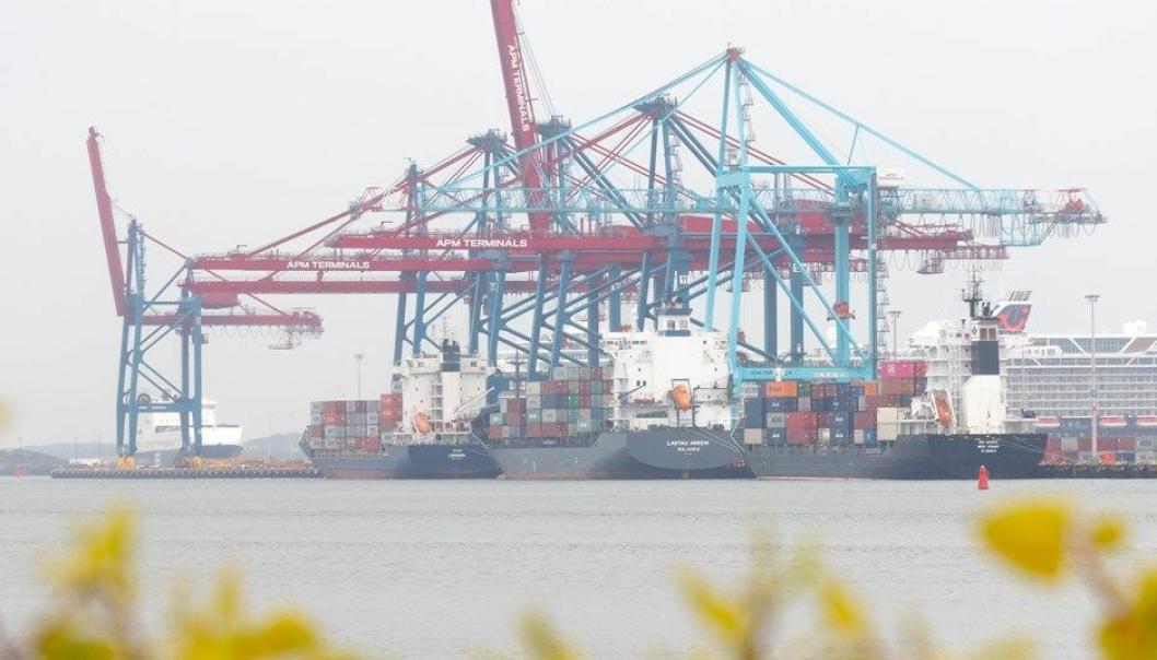 Volumene økte for alle tørrlast-segmenter i Gøteborg havn i første halvdel av 2021sammenlignet med samme periode i 2020. Foto: Göteborg Hamn AB