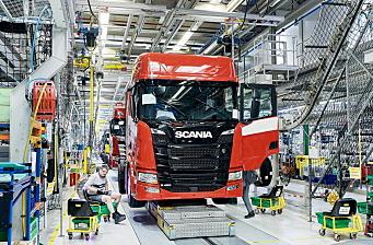 Scania stopper lastebil-produksjonen denne uken