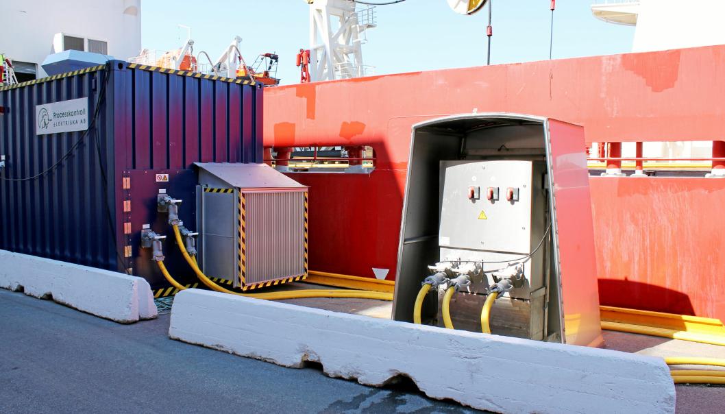 Ytterligere fire havner får støtte til etablering av landstrøm.