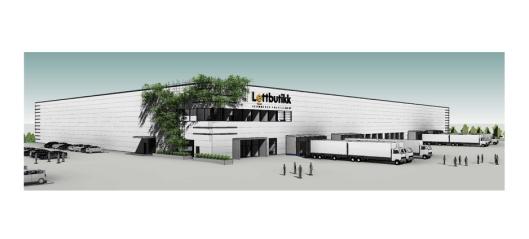 Bygger 17.000 m² nettlager i Enebakk