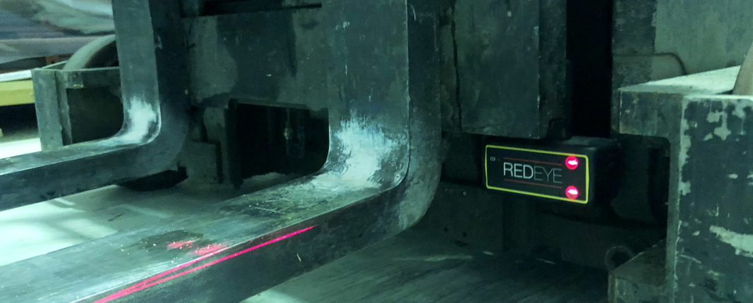 Norsk laser gjør trucken sikrere