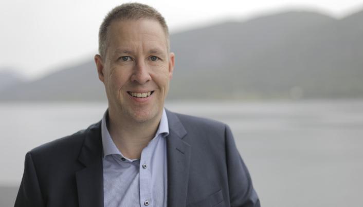 Ove Gjelstenli, salgsdirektør i Maritech.