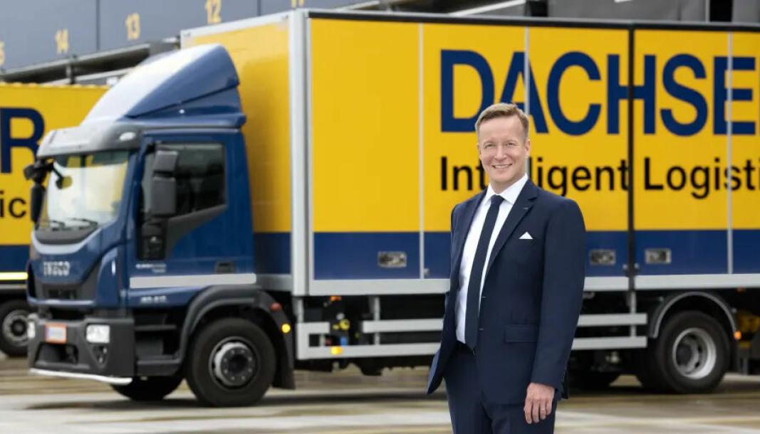 Tuomas Leimio, Managing Director hos Dachser Finland European Logistics
