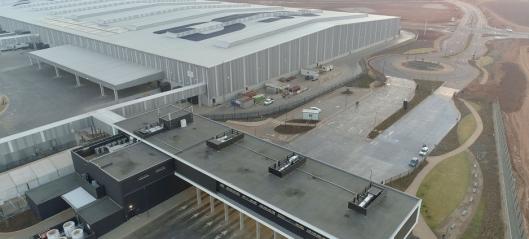 DSV åpnet Afrikas største logistikksenter