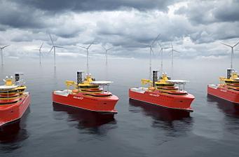 Enova-støtte til 15 hydrogenprosjekt i maritim transport