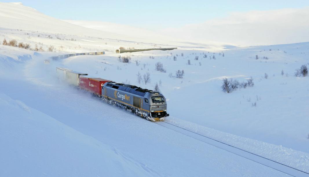CargoNet øker tilbudet fra tre til fire avganger daglig på Nordlandsbanen.