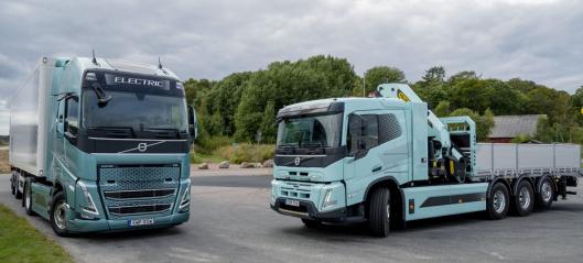 Volvo Trucks: - Det haster