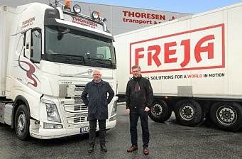 Freja har kjøpt Thoresen Transport AS